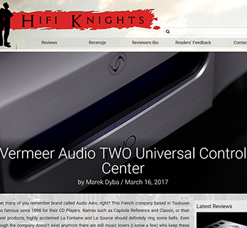 Vermeer Audio TWO Universal Control Center